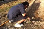 まずは土作りから・・・